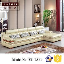 ensemble de canapé moderne et à la mode arabe majlis en cuir canapé ensemble canapé