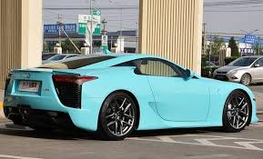 blue lexus of the week baby blue 1 14m lexus lfa