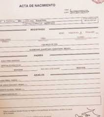 formato de acta de nacimiento en blanco gratis ensayos ya puedes imprimir tu acta de nacimiento sin hacer filas el