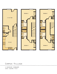 college floor plans 1 5 bed apartments campus village college station