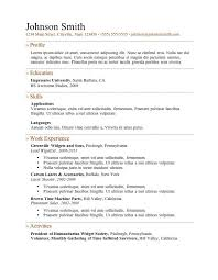 blank resumes to fill in fill in resume form good resume format