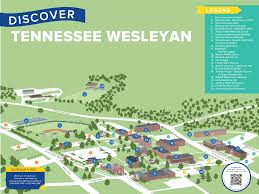 American University Campus Map Home Tennessee Wesleyan University
