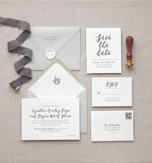 Letterpress Stationery The 25 Best Formal Calligraphy Letterpress Wedding Invitations