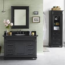 Black Bathroom Vanities HomeClick - Black bathroom vanity and sink