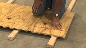 ideas basement subfloor options basement subfloor underlay