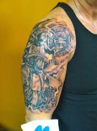 half sleeve arm tattoos 30 firefighter tattoos on sleeve