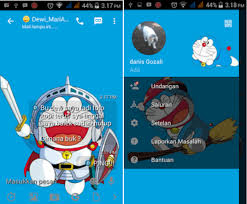 bbm tema doraemon apk download tema doraemon for android body nodding ga
