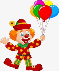 clown balloon clown with balloons vector hat clown colored balloons png