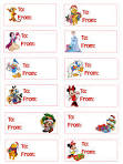 Free Disney Christmas Printable Gift Tags - Disney-