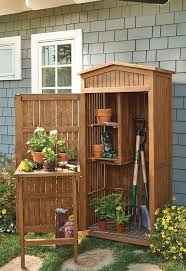 Garden Tool Storage Cabinets This Charming Storage Cabinet Keeps Your And Handled