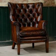 Chesterfield Wing Armchair Chesterfield Armchair Leather Wing Bradley Tetrad Associates