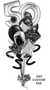 30th birthday balloon delivery black and white party decorations 30th birthday party ideas