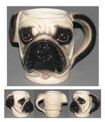 aliexpress com buy 350ml 3d coffee mug pug head coffee cup cute