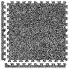 Interlocking Rubber Floor Tiles Exercise Mats 44079 96 Sq Ft Tan Interlocking Foam Floor Puzzle