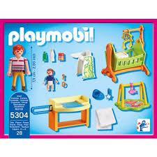 5304 chambre de bébé playmobil pas cher à prix auchan