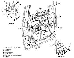 Wiring Diagram For Suburban How Do I Replace The Rear Window Motor In A 1990 Chevrolet Suburban