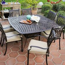 Cast Iron Patio Set Table Chairs Garden Furniture complimenting patio with wrought iron patio furniture