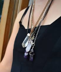 make crystal pendant necklace images Diy style diy crystal necklace threadbare cloak jpg