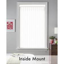 Vertical Blind Slat Pack Bali Cut To Size 3 5 In W X 84 In L White Crown 3 5 Vertical