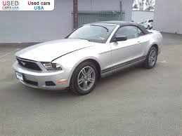 ford mustang usa price for sale 2010 passenger car ford mustang convertible 2d gardena