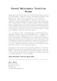 mechanic resume examples maintenance mechanic resume examples free resume example and maintenance tech resume examples vosvetenet technician nice general maintenance technician resume example in paragraph format 1024x1449