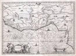 Ivory Coast Map File 1670 Ogilby Map Of West Africa Gold Coast Slave Coast