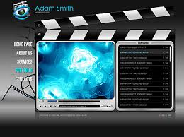 flash website template free movie producer flash website template best website templates