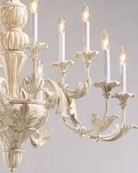 Vintage Wrought Iron Chandeliers Antique White Wrought Iron Chandelier Foter