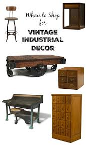 Where To Find Vintage Style - where to find the best vintage style industrial decor knick of time