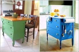 repurposed kitchen island ideas 20 of the best upcycled