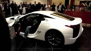 lexus lfa engine lexus lfa engine sound youtube