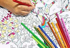 25 coloring books pages adults relieve stress