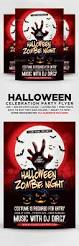 halloween zombie night party flyer by designblend graphicriver