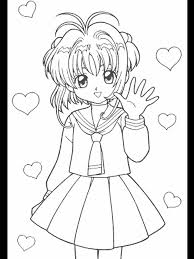 cardcaptors 27 cartoons coloring pages u0026 coloring book