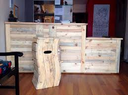 Diy Reception Desk Wood Pallet Recycled In Creative Ways Pallet Wood Projects