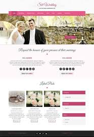 free wedding websites with free wedding theme for wedding websites skt themes