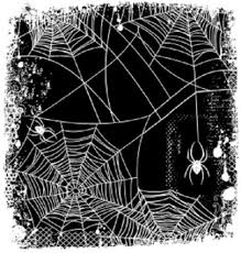 halloween spiders background deep red rubber cling stamp spider web background halloween spooky