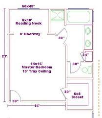 master bedroom bath floor plans 14x16 master bedroom floor plan with bath and walk in closet