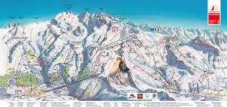 New York Ski Resorts Map by Zermatt Piste Map Trail Map