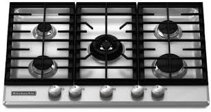 Gas Countertop Range Kitchen Cooktops Amazon Com Kitchenaid Architect Series Ii Kfgs306vss 30 Gas