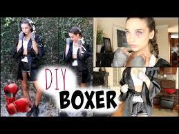 boxer costume diy boxer tutorial
