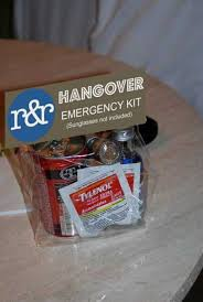 wedding gift kits wedding hangover kits a gift your guests will thank you for