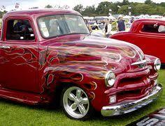 chev chevy chevrolet advanced design pickup truck in a basically