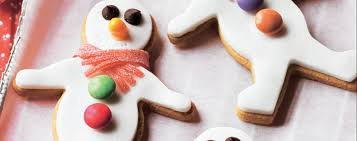 spiced snowmen biscuits asda good living