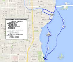 Cocoa Beach Map Morningstar Paddle Out To Biscayne Bay U2013 Florida Kayaking Adventures