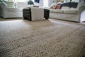Pottery Barn Heathered Chenille Jute Rug New Rug In Which I Call A Truce With Andy U0027s Feet View Along