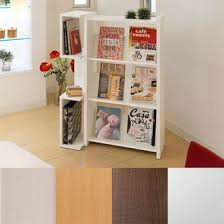 White Open Bookcase Atom Style Rakuten Global Market Bookcase Display Rack White