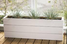 diy planter box diy modern minimalist planter boxes lax to yvr blog