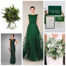 spring wedding colors combination 2017