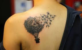 creative dandelion design of tattoosdesign of tattoos